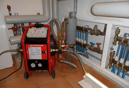 Гидродинамическая промывка системы отопления в Москве