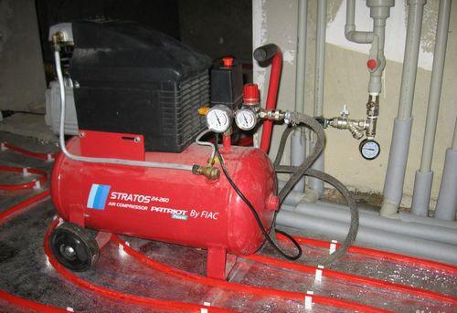 Гидропневматическая промывка системы отопления в Москве
