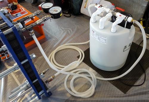 Химическая промывка системы отопления в Москве