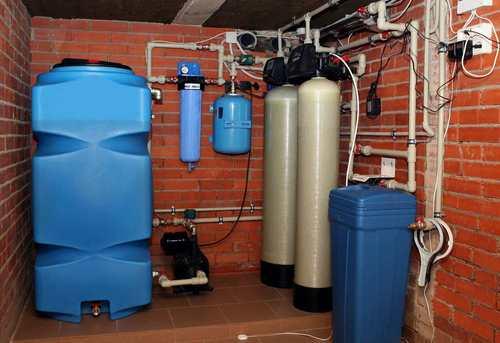 Монтаж автономного водоснабжения в Москве