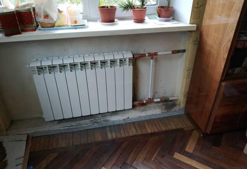 Монтаж батарей отопления в частном доме в Москве
