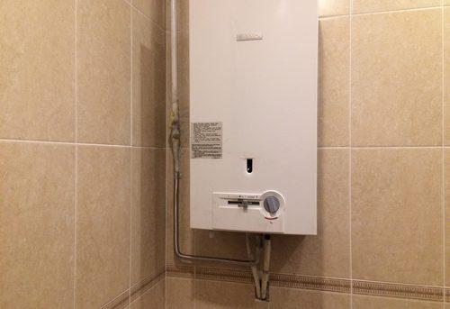 Установка газовой колонки Bosch в Москве