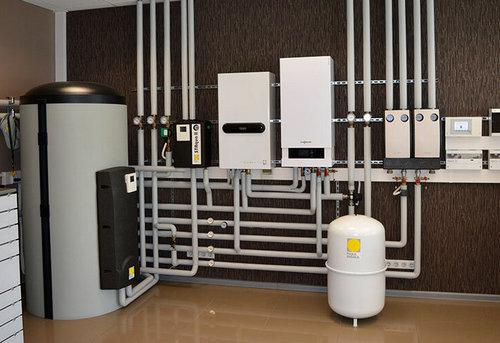 Монтаж комбинированного отопления в частном доме в Москве