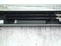 Установка и подключение конвектора отопления