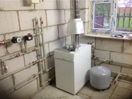 Монтаж котла отопления в Москве