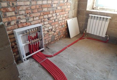 Монтаж отопления в квартире в Москве