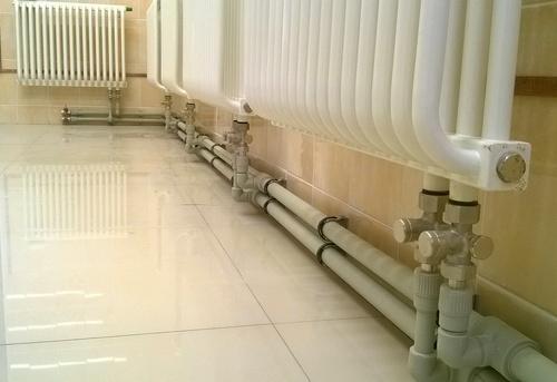 Монтаж полипропиленовых труб отопления в Москве