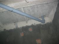 Монтаж труб канализации закрытым способом