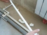 Протяжка труб отопления