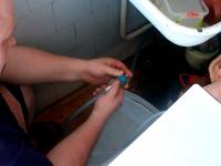 Подключение стиральной машины в кухонный гарнитур
