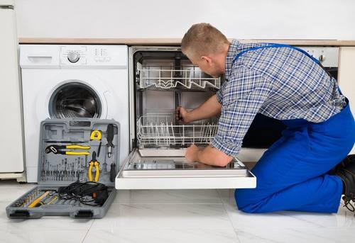 Подключение встраиваемой посудомоечной машины в Москве