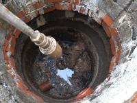 Прочистка канализационных труб в коттедже