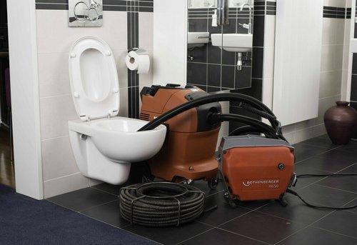 Прочистка канализации в ванной в Москве