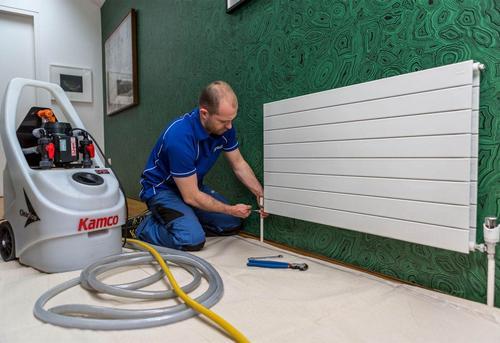 Промывка радиаторов отопления в Москве