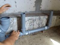 Разводка канализации качественно