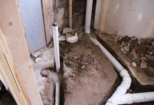 Разводка канализации в частном доме в Москве