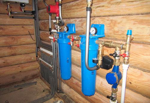 Разводка водоснабжения в частном доме в Москве