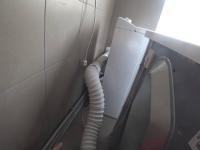 Установка отдельно стоящей сушильной машины
