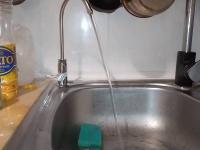 Установка фильтра для воды с краном