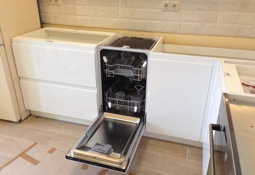 Установка посудомоечной машины в гарнитур в Москве