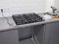 Монтаж индукционной варочной панели