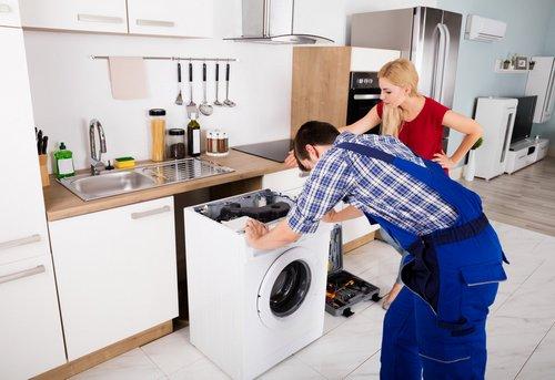 Установка встраиваемой стиральной машины в Москве