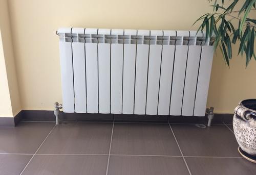 Замена алюминиевого радиатора отопления в Москве