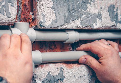 Замена отопительных труб из полипропилена в Москве