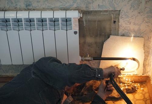 Замена отопительных труб из стали в Москве