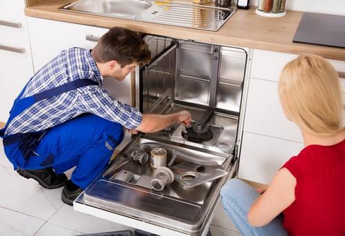 Замена посудомоечной машины в Москве