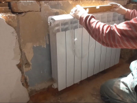 Замена алюминиевого радиатора отопления