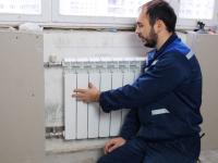 Замена радиатора отопления с боковой подводкой