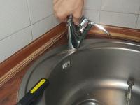 Замена вентильного смесителя