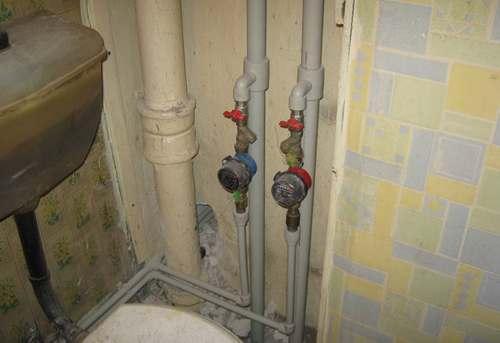 Замена стояка холодного водоснабжения в Москве