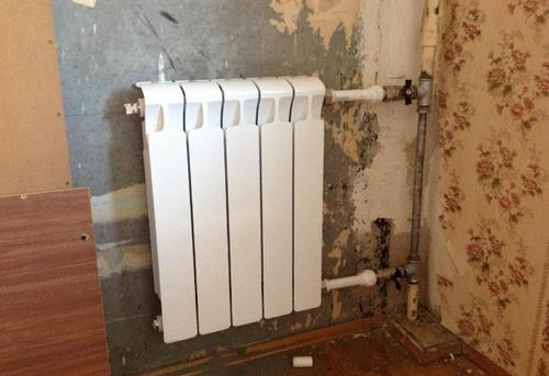 Замена стояка отопления с установкой радиатора отопления в Москве