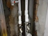 Замена металлопластикового стояка водоснабжения