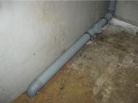 Замена чугунных труб канализации